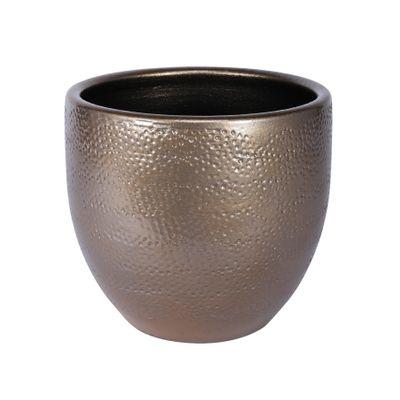 Florence Pot Gold (18cm x 16cm)