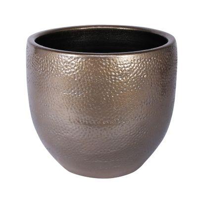 Florence Pot Gold (20cm x 18cm)