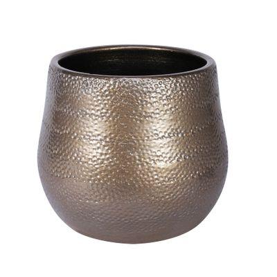Florence Pot Gold (19cm x 16cm)