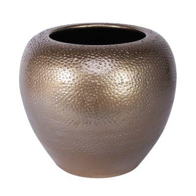 Florence Bowl Planter Gold (20cm x 18cm)
