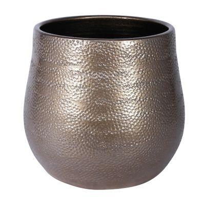 Florence Pot Gold (23cm x 20cm)