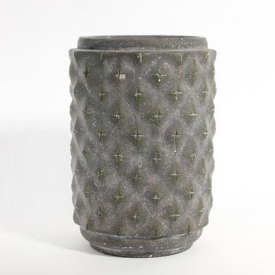 Graphic Cylinder Planter 15x15x22cm (1/6)