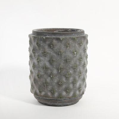 Graphic Cylinder Planter 14x14x17cm (1/8)