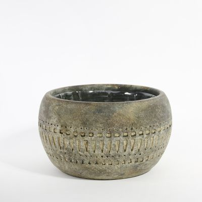 Totem Bowl Planter 18.5x18.5x11cm (1/8)