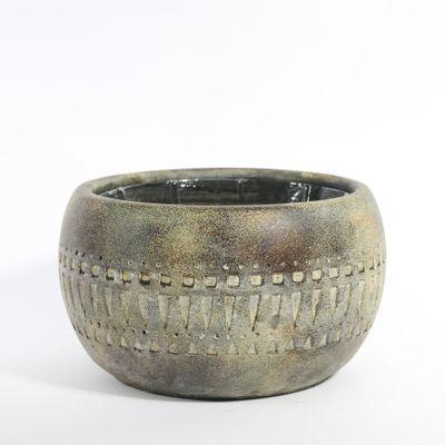 Totem Bowl Planter 21x21x12cm (1/8)