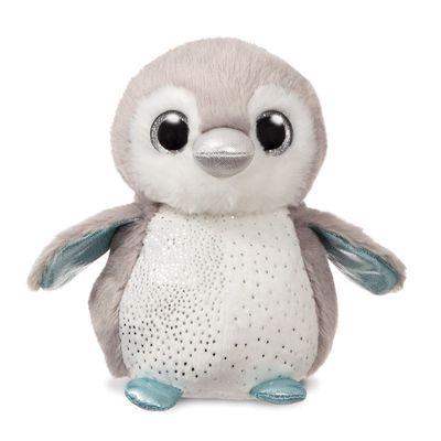 Plush Misty Grey Penguin 7 inch