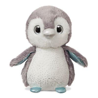 Plush Lumi Grey Penguin 12 inch