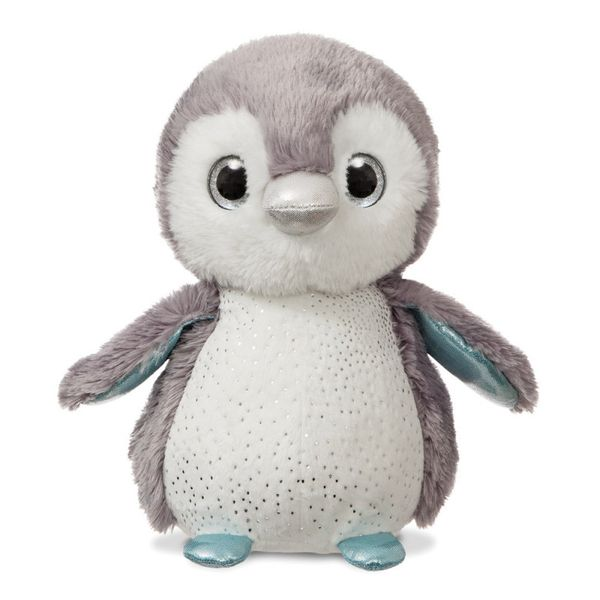 Plush Lumi Grey Penguin 12 inch