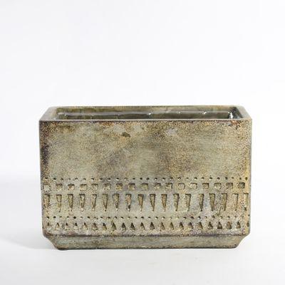 Totem Cube Planter 20x10x12.5 (2/12)
