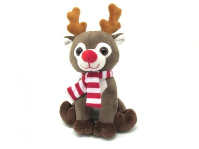 Reindeer with Scarf (6 inch)