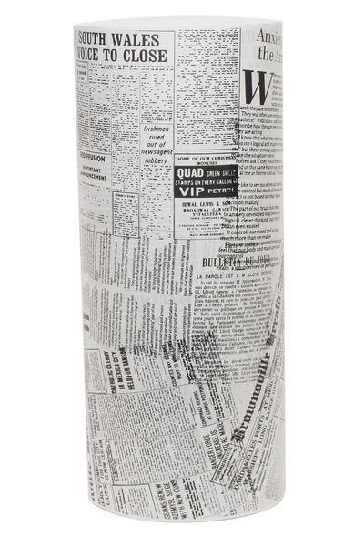 Black Newsprint on Bleached Kraft Roll (50cm x 400m-10kg)