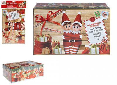 Mini Christmas Eve Elf Box (17x26.5cm)