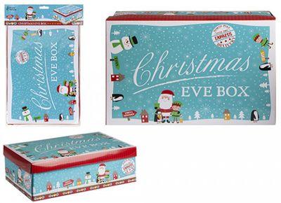 Small Blue Character Christmas Eve Box