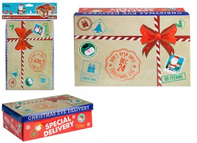 Mini Special Delivery Christmas Eve Box With Header Card