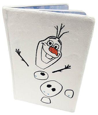 Frozen 2 (Olaf) Fluffy A5 Notebook