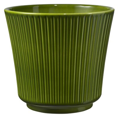 Delphi Ceramic Pot 20x18cm Antique-Green High-Gloss