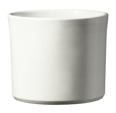 Miami Ceramic Pot - Matte White - (40 x 35cm)