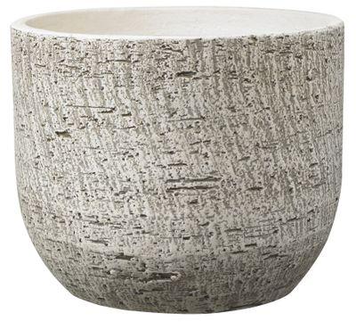 Portland Ceramic Pot 20cm bark optics