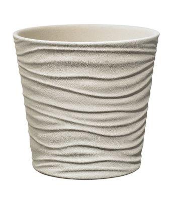 Sonora Ceramic Pot 21cm sahara beige