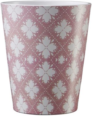 Medina Ornament Ceramic Pot 13cm Rose-White
