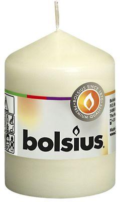 Bolsius Pillar Candle Ivory (80/60 mm)