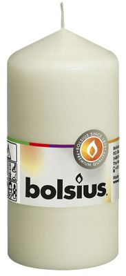 Bolsius Pillar Candle Ivory (120/60 mm)