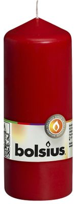 Bolsius Pillar Candle Red (150/60 mm)
