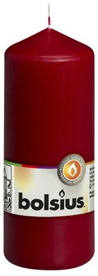Bolsius Pillar Candle Wine Red (150/60 mm)