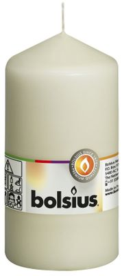 Bolsius Pillar Candle Ivory (130/70 mm)