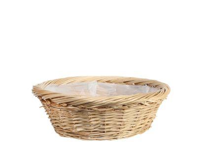 Round Full Willow Basket 30.5cm