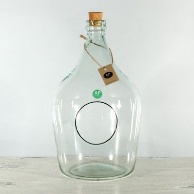 Eco - Elegant Demi-John w/hole (28cm x 19cm)