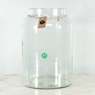 Eco - Elegant Siena Jar (30cm x 19cm)