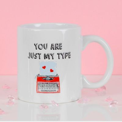 True Valentine Novelty Mug - You Are Just My Type