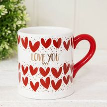 Quicksilver Mug with Foil - Love You
