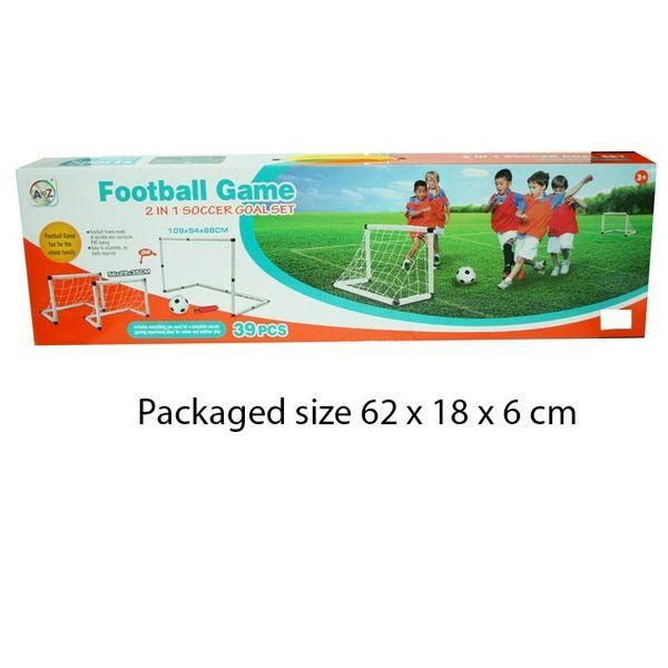 T19979 2 In 1 Soccer Goal Set