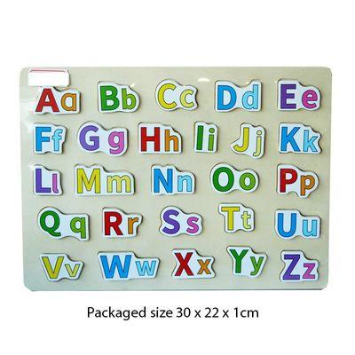 T19995 Wood Puzzle Letters