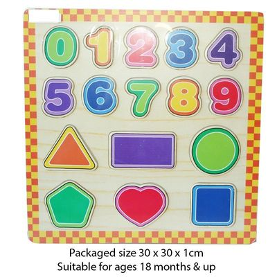 T19993 Wood Puzzle 123