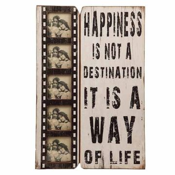 HAPPINESS IS A WAY OF LIFE FRAME
