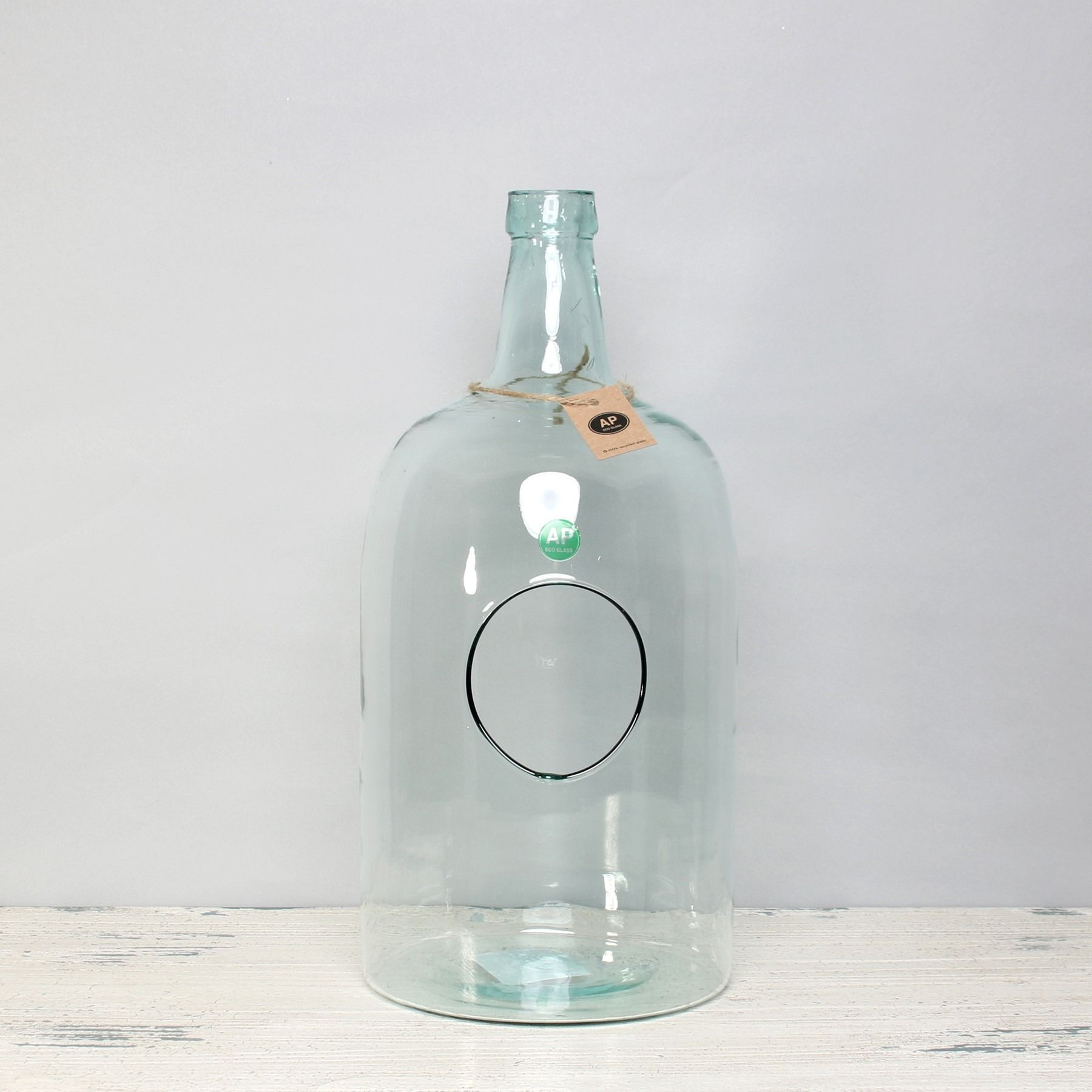 Eco - Elegant Bottle w/hole (40cm x 19cm)