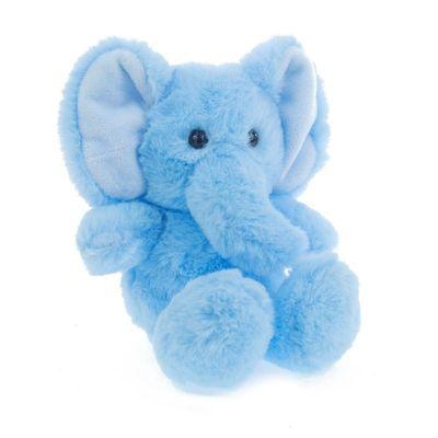 Blue Elephant Soft Toy