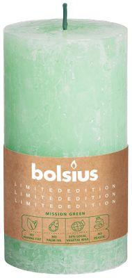 Bolsius Rustic Pillar candle Water (130 mm x 68 mm)