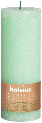 Bolsius Rustic Pillar candle Water (190 mm x 68 mm)