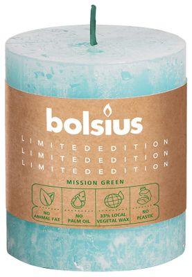 Bolsius Rustic Pillar candle Sky (80 mm x 68 mm)