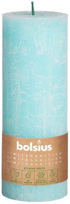 Bolsius Rustic Pillar candle Sky (190 mm x 68 mm)