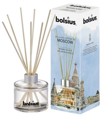 Bolsius Fragrance diffuser Moscow (100ml)