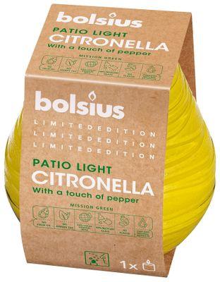 Bolsius Citronella Patiolight (Divine Range)