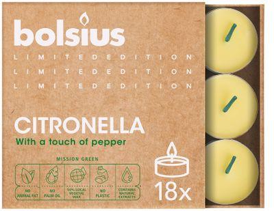 Bolsius Citronella Tealights 18 (Divine Range)