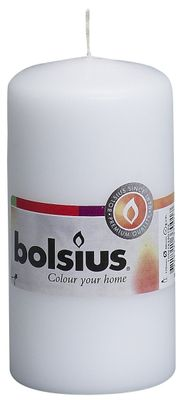 Bolsius Pillar Candle White (120/58 mm)