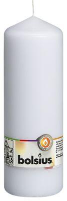 Bolsius Pillar Candle White (200/68 mm)