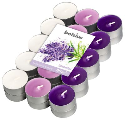 Fragranced Tealight 4hr pck30  - Lavender